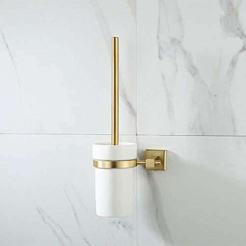 Toilettenbürstenhalter Set golden Hardware Anhänger Messing Toilettenbürstenhalter-B.zerlegbarer und WC-Garnitur für Halter - stenhalter in -