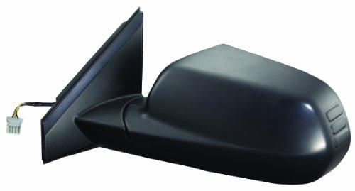 Fit System - 63026H Driver Side Mirror for Honda CR-V EX, LX Model, Black, PTM, Foldaway, Power