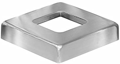 Stainless Steel Cover Plate for Square Floor Flange (Terminal Post)
