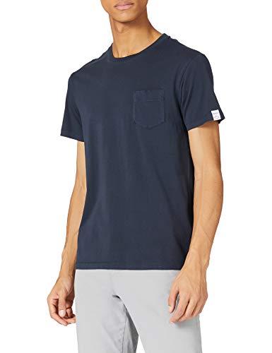 REPLAY M3350 Camiseta, 890 Dark Blue, XL para Hombre