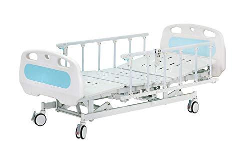 Hopefull Premium 3 Function Full Electric Hospital Bed (LINAK Actuators and Controller, Metal Slots)