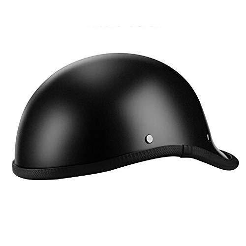 LUNANA Retro Half-Helmet de Motocicleta, ECE Certificación, Medio Abierto Cara Motocicletas, Retro...