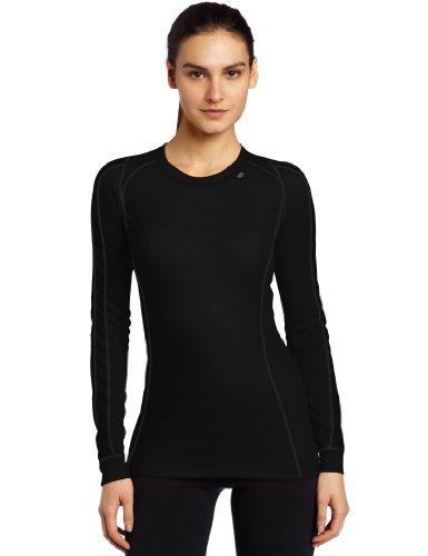 Helly Hansen Warm Ice Crew Sous vêtement technique Femme - Noir (Black) - FR : XL (Taille Fabricant : XL)