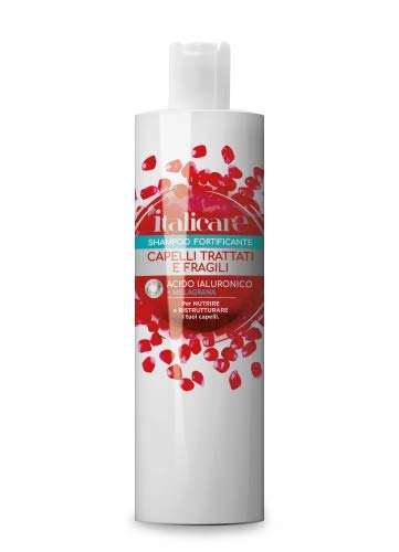 Hyaluronic Hair Shampoo with Pomegranate (1000 ml) Hyaluronic Acid Hair Care for Daily Hair Washing