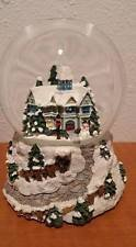 Victorian Christmas Snowglobe By Thomas Kinkade Painter Of Light