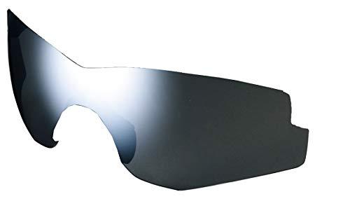 SHIMANO Lentes Espejo SH Spark Ciclismo, Adultos Unisex, Plateado(Smoke Silver), Talla Única