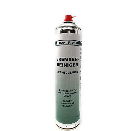 Ber-Fix® 5x Bremsenreiniger 600 ml basiert auf einer speziellen Sorte von Spezialbenzin. für schnellen Reinigen von Trommelbremsen Scheibenbremsen Bremsbelägen Bremsklötzen Kupplungsteilen