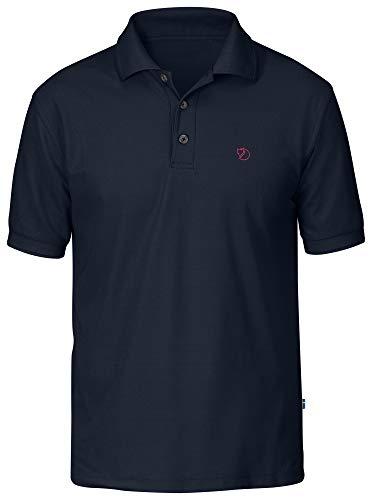 Fjallraven Herren Crowley Pique Shirt M T, Blueblack, L