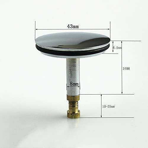 LCDIEB 1 Pieza de latón, bañera, Ducha, habitación, tapón de Rebote, núcleo de Rebote, Lavabo, Accesorios de Drenaje de Suelo emergentes, A