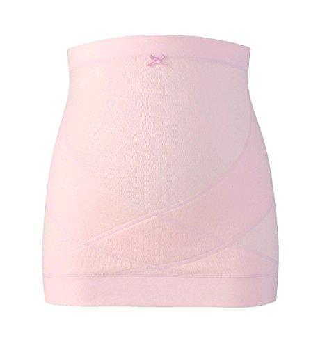 Wacoal MATERNITY(ワコールマタニティ) 妊婦帯 腹巻きタイプ ( 日本製 ) 産前 妊娠初期から臨月まで使える 腹帯 [ ギフトケース入り ] L ピンク MRP476 PI
