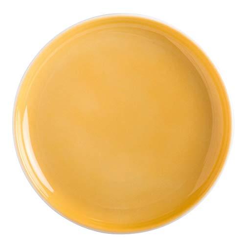 Kahla Five Senses Aquarell-Gelb Untertasse/Snackteller 11 cm