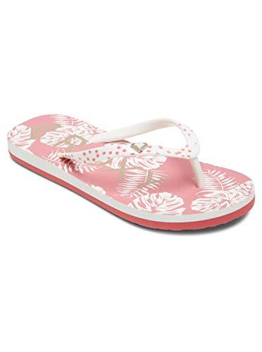 Roxy Rg Pebbles Sandal for Girls Flip-Flop, Barely PINK, 30 EU