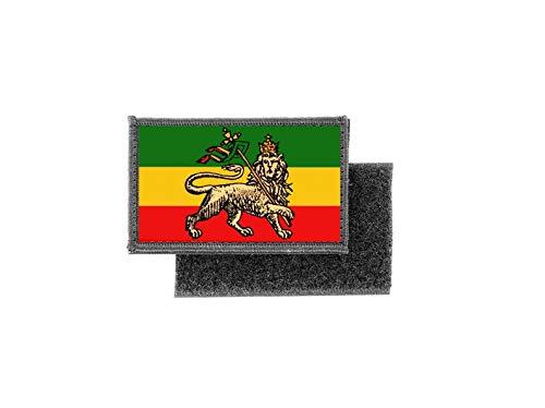 Aufnäher patch aufbügler gedruckt flagge fahne athiopien äthiopien r2