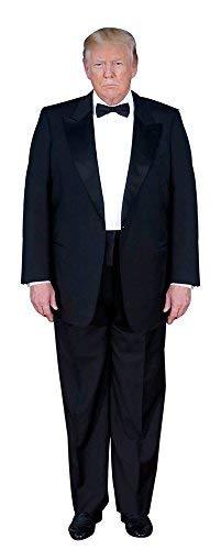 ああー! ドナルド・トランプの彫刻 スタンドアップ | 段ボールの切り抜き | 6フィート 実物大スタンド写真ポスター 大統領の写真プリント