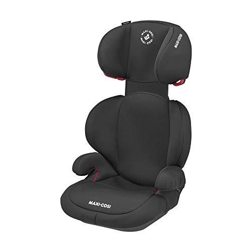 Maxi-Cosi 8644870320 Maxi-Cosi Rodi SPS Kindersitz, Leichtgewicht, mitwachsender Gruppe 2/3 Autositz (ca. 15-36 kg), nutzbar ab ca. 3,5 bis ca. 12 Jahre, Basic Black, schwarz