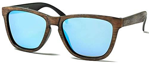 Ocean Sea Wood Revo Blue - Marron