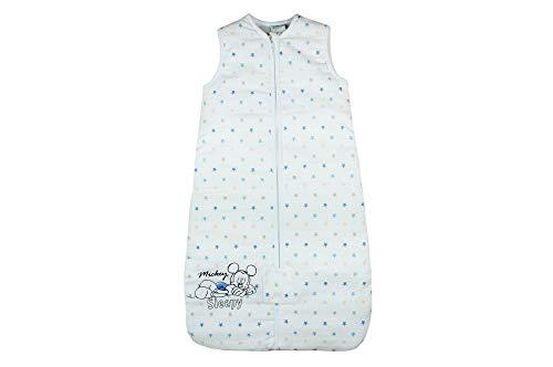 Disney Baby Mickey Mouse Baby Schlafsack Ganzjahres-Schlafsack für Jungen in Größe 56 62 68 74 80 86 92 98 104 Baumwolle ideal auch für Winter Farbe Modell 4, Größe 92/98