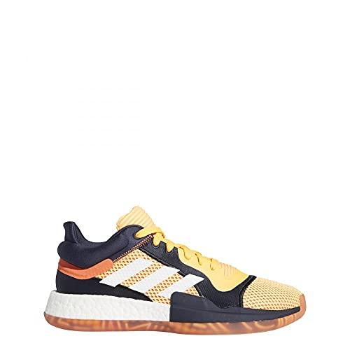 adidas Zapatillas de baloncesto Marquee Low Vegas para hombre, color naranja, color Amarillo, talla 49 1/3 EU