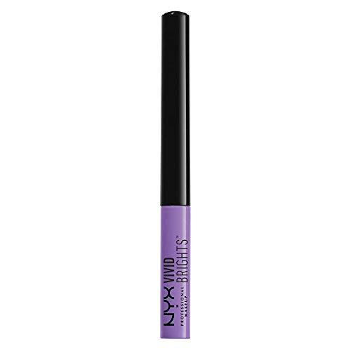 NYX PROFESSIONAL MAKEUP Vivid Brights Liquid Eyeliner - Vivid Blossom (Pastel Lavender)