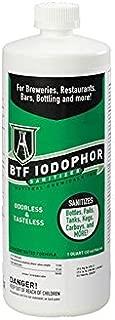 iodophor sanitizer for homebrew