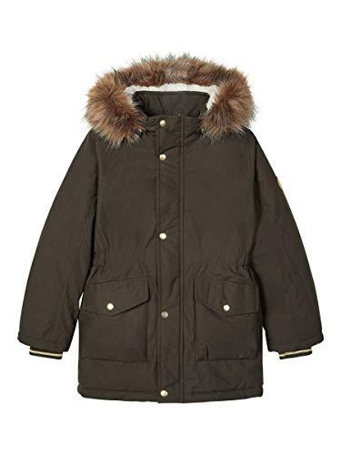 NAME IT Mädchen NKFMIBIS Parka Jacket PB Jacke, Rosin, 152