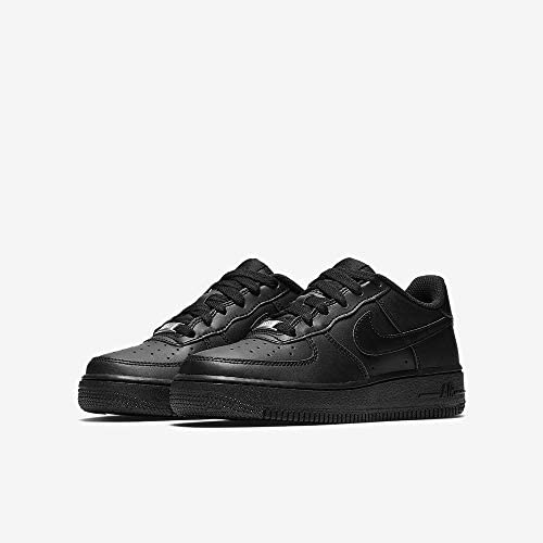 Amazon.com | Men Nike Air Force 1 '07 Low Black / Black 315122-001 ...