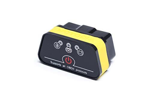 iCar Bluetooth OBD2 Diagnosegerät, Scanner Scan-Tools, Diagnose für Autos Stecker Kompatibel mit Android