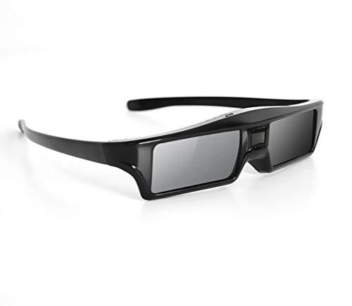 MLYWD 3D-Brille Wieder Aufladbare Aktive Fensterladen-Brillen-Projektor-Bluetooth-Gläser,für 3D-EPSON-, NEC-, Sony-, Sharp-, Samsung-Projektoren und 3D-Fernseher mit Bluetooth-Technologie