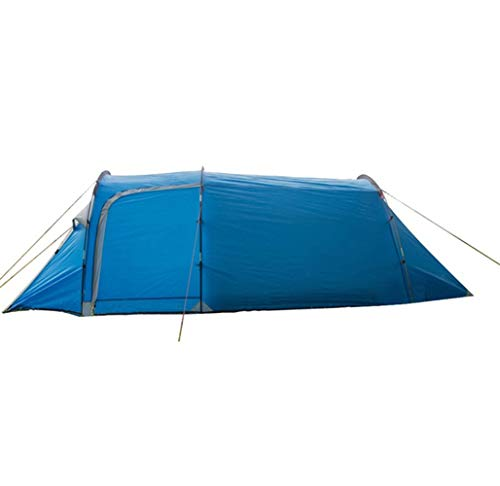 LIZHAIMING Outdoor Camping Tunnel Tent Ultralight Waterproof Double-Wall Tent All-Season Shelter with Travel Bag Suitable for Camping and Hiking