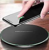 Benzon Caricatore Wireless,Caricabatterie Wireless 30W Ricarica Rapida Caricabatterie a Induzione per iPhone 12 Mini/12 PRO Max /11 PRO/XS/XS Max/XR/X /8/8 Plus, Galaxy S10 /S9 /S9 + /S8 (Nero)