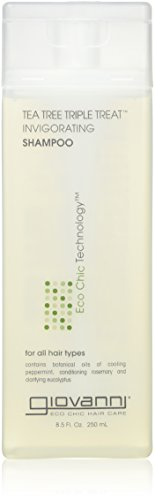Giovanni Hair Care Products Tea Tree Triple Treat Shampoo 235 ML