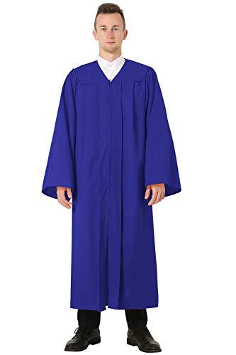 GraduatePro Graduación Toga Adulto Universidad 2021 Bachillerato Disfraz Regalo Hombre Mujer PhD Master Secundaria 12 Colores