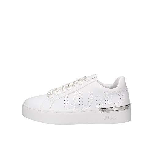 Liu Jo BA0027 EX014 Sneakers Donna Bianco 39