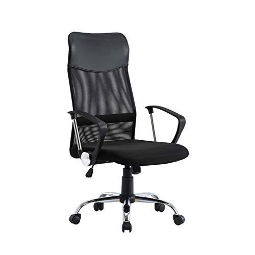 XXY Sgabello per Sedia da Ufficio, Sedia Rotante a 360 Gradi, Altezza Regolabile, Comodo (Color : Black)