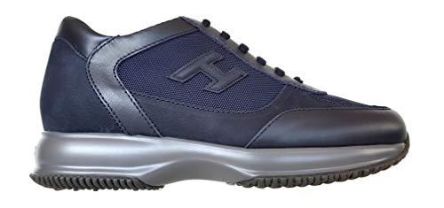 Hogan Scarpe Sneakers Uomo New Interactive H 3D HXM00N0I980LIE3735 Blu Denim (10)
