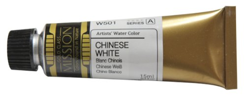 Mijello Mission Gold Water Color, 15ml, Chinese White