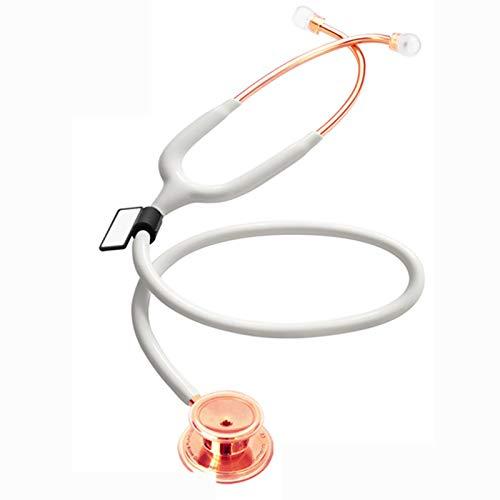 Kaliove Estetoscopio de Cabezal Doble de Acero Inoxidable, Estetoscopio médico Profesional, ritmos...