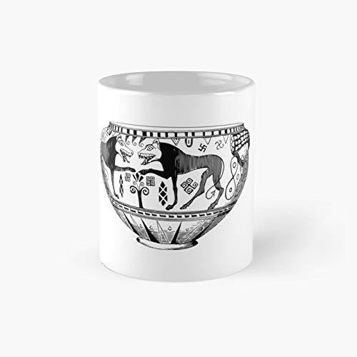 Tazas clásicas para taza, regalo de 12 onzas