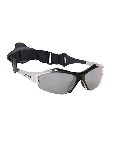 Jobe Gafas de Sol Deporte náutico Gafas Gafas de Sol para Kite Surf Vela Ballena Esquí acuático Skate Ciclismo - cyprice Silver polarizado