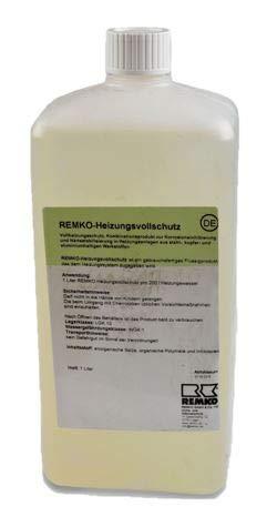 Remko Heizungsvollschutz ohne Frostschutz   1 Liter