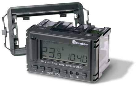 1°C5182300007Finder montaje en hilo Termostato programable todos los días A Diario