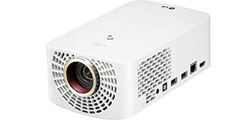 LG Beamer HF60LS Largo 2.0 bis 304,8 cm (120 Zoll) CineBeam LED Full HD Projektor (1400 Lumen, Drahtlose Screen-Share-Funktion, webOS) weiß