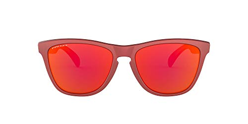 Oakley Frogskin Gafas de sol, Ir Red W/Prizm Ruby, 0 Unisex