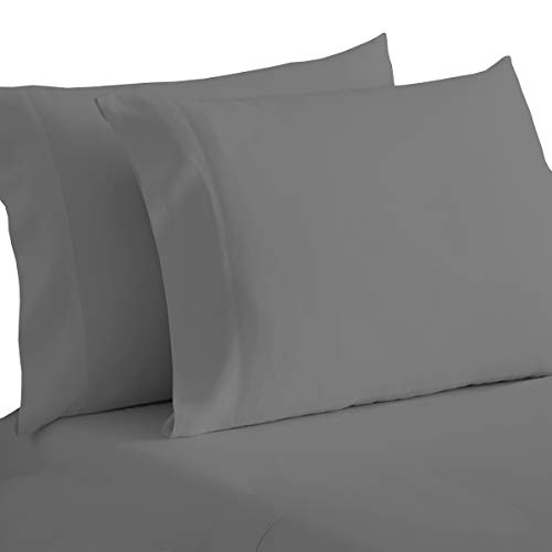 NIM Textile Luxury 1600 TC Softness Deep Pocket 4pc Bed Sheet Sets Milano Collection Black Queen