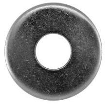 100 Stück rostfreie Edelstahl V2A Unterlegscheiben DIN 9021 4,3 (M4)