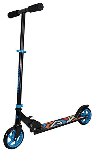 Schildkröt City Scooter RunAbout, Ruedas de 145 mm, Patinete de Aluminio, Plegable, para Niños +6 Años, Color: Azul, 510303
