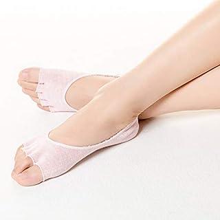 SGJFZD 3pairs/Pack Summer Thin Five Finger Socks Women's High Heels Invisible Open Toe Boat Socks Cotton Toe Short Socks, Color Randomly Sent (Color : Random)