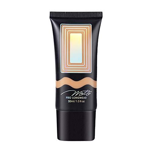 ARTIFUN Fond de Teint Liquide Base de Maquillage pour le Visage Primer Nude 7 Couleurs Naturelle Couverture Complète Apprêt Correcteur BB Crème Cosmétiques Imperméables