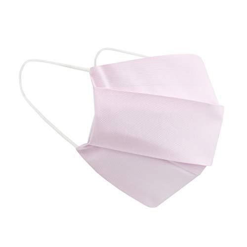 (Rosa) Wiederverwendbarer Mundschutz Maske mit 3 Filter -100% Baumwolle Öko Tex Zertifiziert Stoff Maske, Waschbare Atemschutzmaske Gesichtsmaske Schutzmaske Mundmaske Mund Maske Kälteschutz