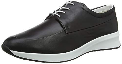 HÖGL Damen Plain Schwarz 5.5 1-103300 Sneaker